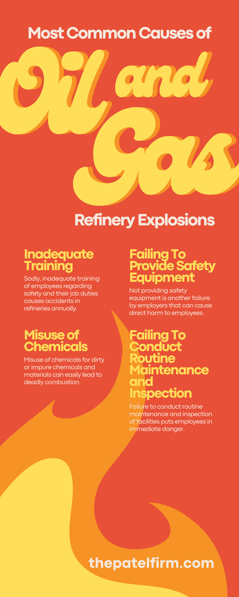 The Most Common Causes of Oil and Gas Refinery Explosions